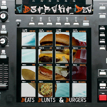 Beats, Blunts & Burgers Vol.1 cover art