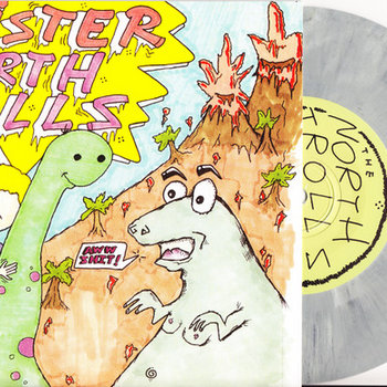 "Wrister / North Trolls ""Split"" cover art"