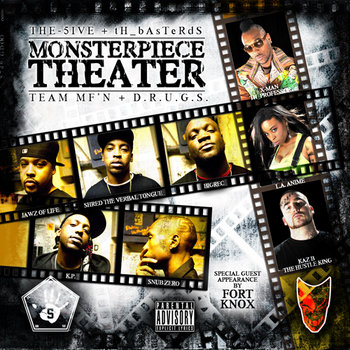 MONSTERPIECE THEATER cover art