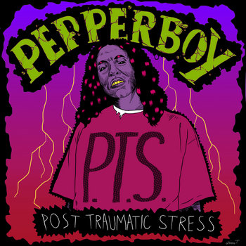 P.T.S. (Post Traumatic Stress) cover art