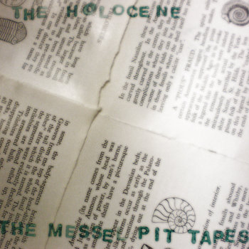 The Messel Pit Tapes cover art