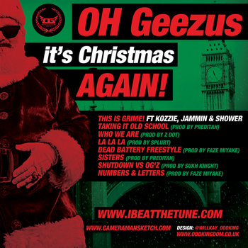 Oh Geezus It's Christmas AGAIN! cover art
