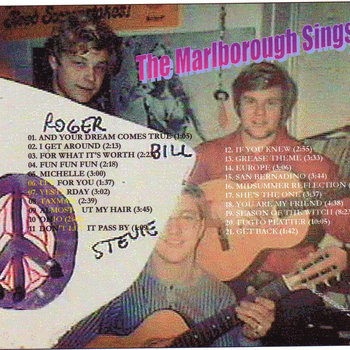 The Marlborough Sings cover art