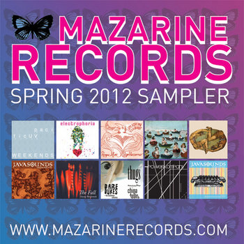 Mazarine Records Spring 2012 Sampler cover art