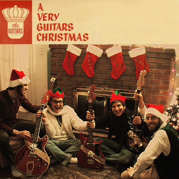 A Very Guitars Christmas cover art