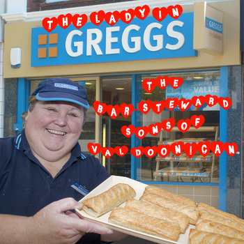 The Lady In Greggs (single) cover art