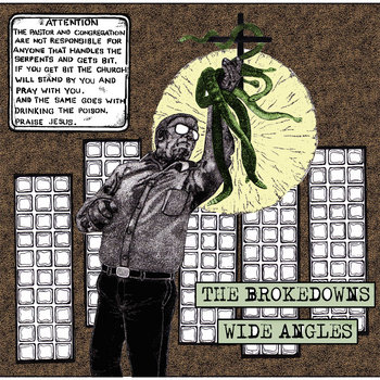 Wide Angles/Brokedowns Split EP cover art