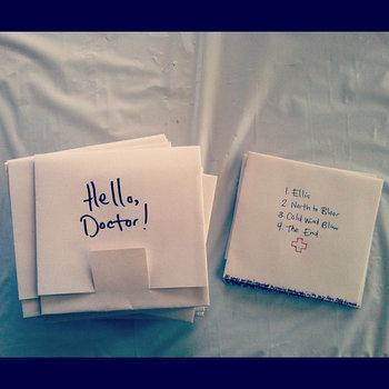 Hello, Doctor! EP cover art