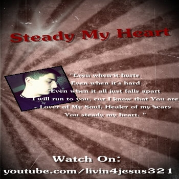Steady My Heart cover art