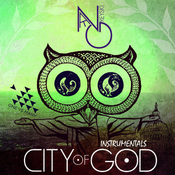 "Nate Greyski - ""City of God (Instrumentals)"" cover art"