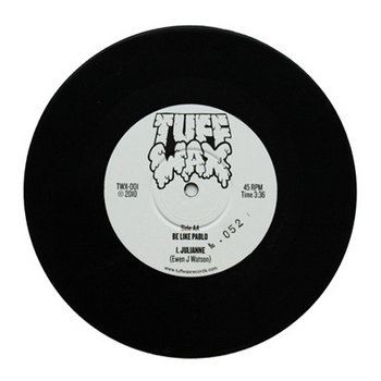 "TWX-001: The Post-It Song b/w Julianne 7"" cover art"