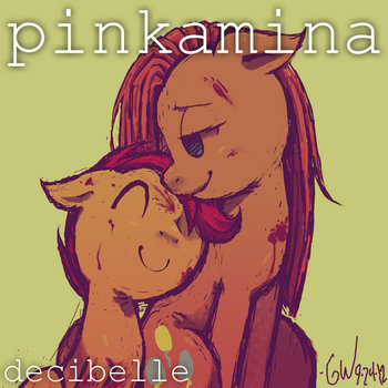 Pinkamina cover art