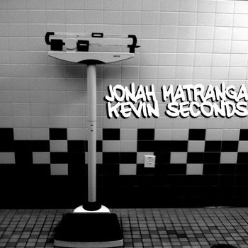 "Jonah Matranga/Kevin Seconds - Split 7"" (BTR016) cover art"