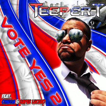 The Vote YES Mixtape Volume 2 cover art