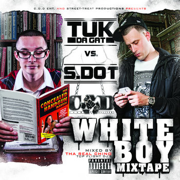 "S.DOT VS TUK-da-GAT ""WHITE BOY MIXTAPE"" cover art"