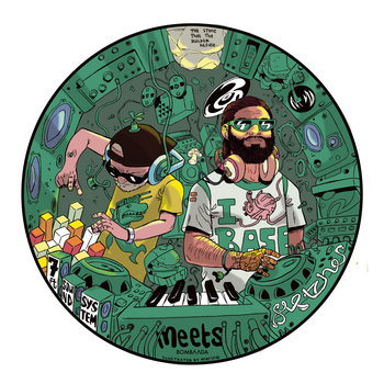 7FT soundsystem Meets Fletcher In Dub EP cover art