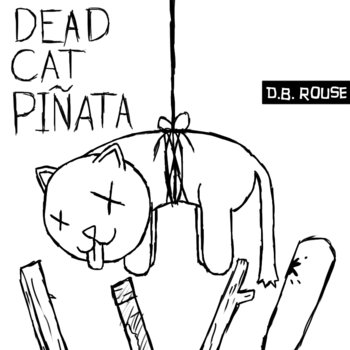 Dead Cat Piñata (digital comic book included in album downloads) cover art