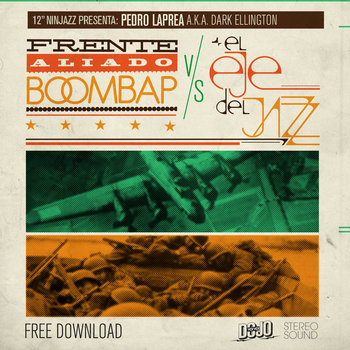 "12"" Ninjazz presenta: Frente Aliado Boombap vs. El Eje del Jazz cover art"