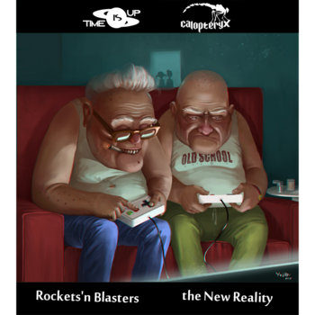The New Reality / Rockets'n Blasters cover art