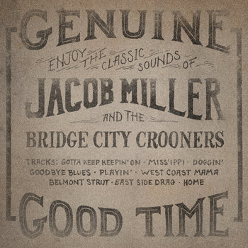 Jacob Miller and the Bridge City Crooners cover art