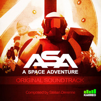 "A Space Adventure ""ASA"" cover art"