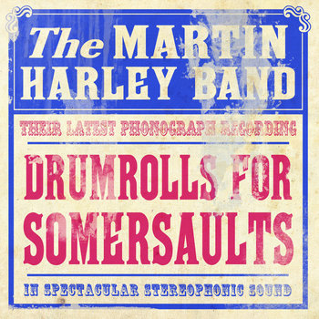 Drumrolls For Somersaults cover art