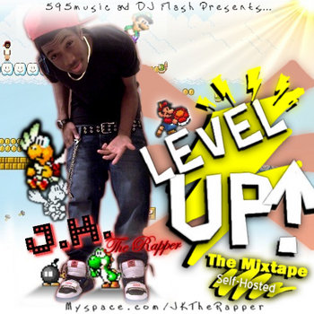 "Level Up! ""The Mixtape"" cover art"