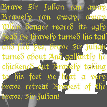 brave sir julian ran away bravely ran away cover art