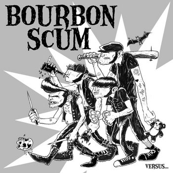 Bourbon Scum vs Knyghts of Fuzz cover art