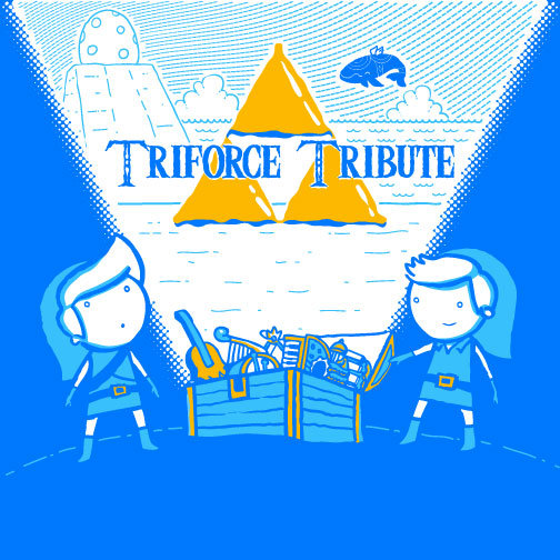 Triforce Tribute Album Cover