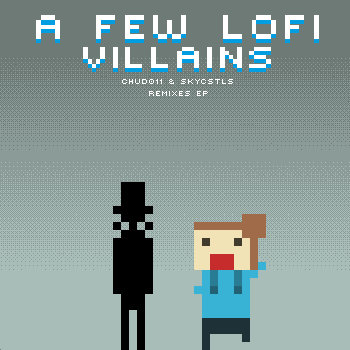 A few lofi villains cover art
