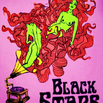 BLACK STARS cover art