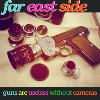 Guns Are Useless Without Cameras cover art