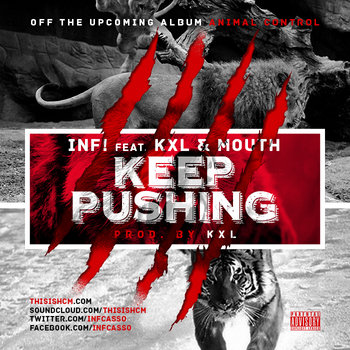 Keep Pushing(Feat. KXL & Mouth) cover art