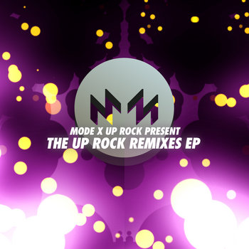 The UP ROCK Remixes EP cover art