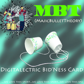 Digitaletric Bid'Ness Card cover art