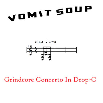 Grindcore Concerto In Drop-C cover art