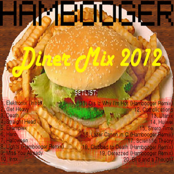 Diner Mix 2012 cover art