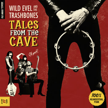 Tales From The Cave - LP cover art