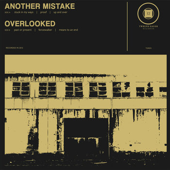"SPLIT 7"" EP w/ ANOTHER MISTAKE (2012) cover art"
