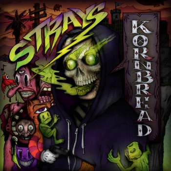 Strays cover art