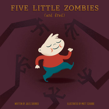 Five Little Zombies And Fred cover art