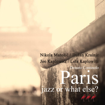 Paris - jazz or what else? cover art