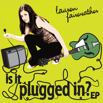 is it plugged in? EP cover art