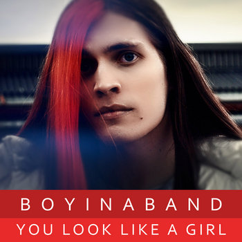 You look like a girl cover art