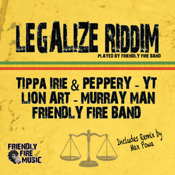 Legalize Riddim cover art