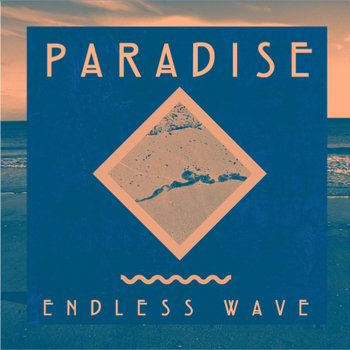 Endless Wave b/w Blue Flower cover art
