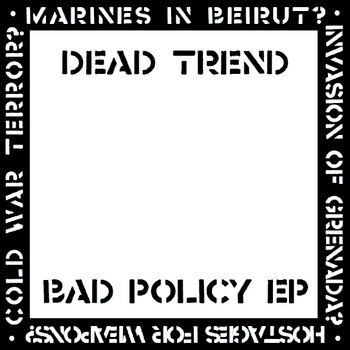 Bad Policy EP cover art