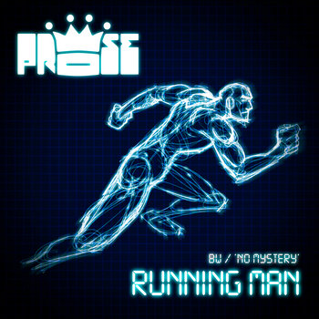 Running Man b/w No Mystery cover art