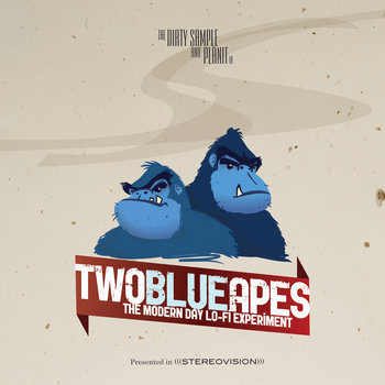 Two Blue Apes cover art